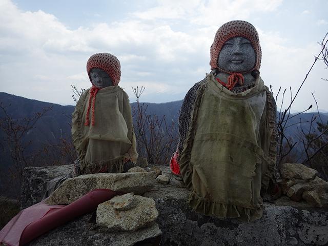 釈迦ヶ岳のお地蔵さま