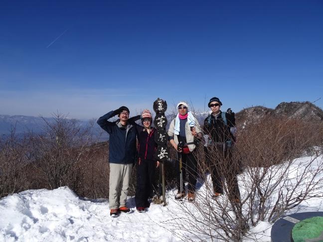 茅ヶ岳・金ヶ岳