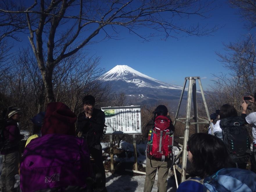 愛鷹山(黒岳・越前岳)