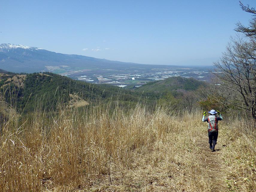 横尾山〜飯盛山縦走