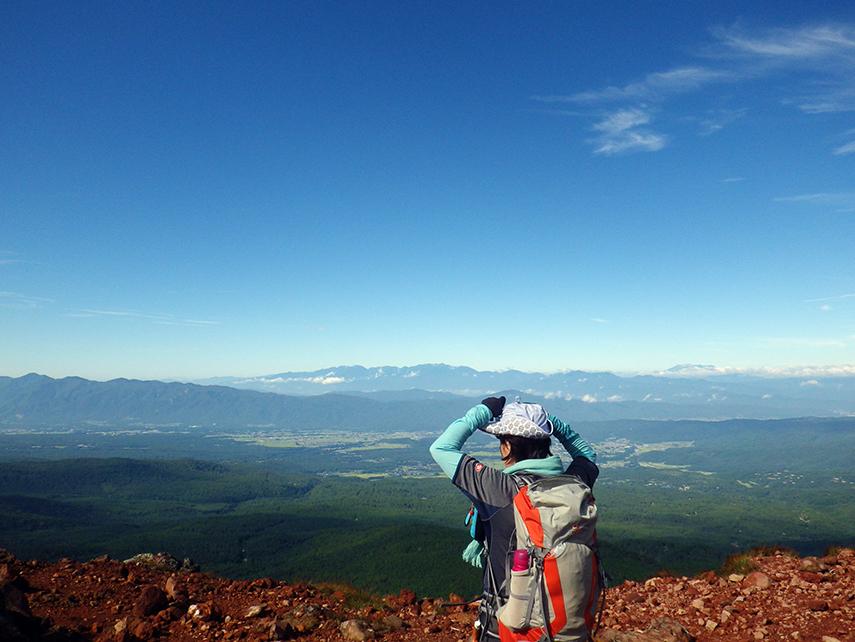 茶臼山・縞枯山・八柱山