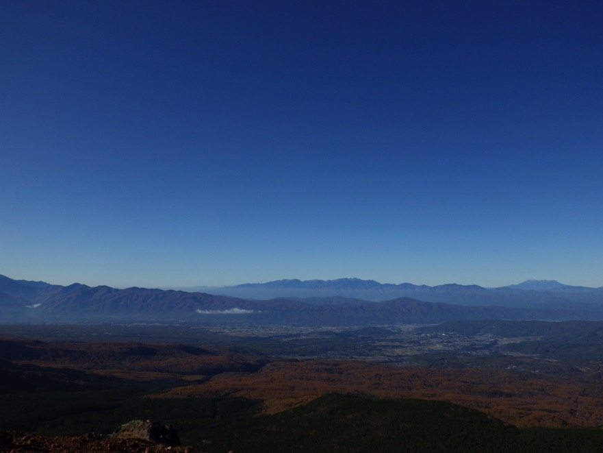 茶臼山・縞枯山・雨池